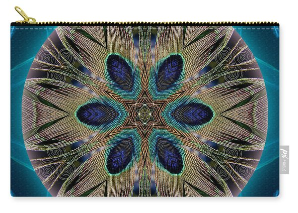 Peacock Power Carry-all Pouch