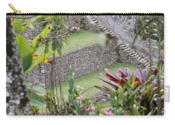 Peeking In At Machu Picchu Carry-all Pouch