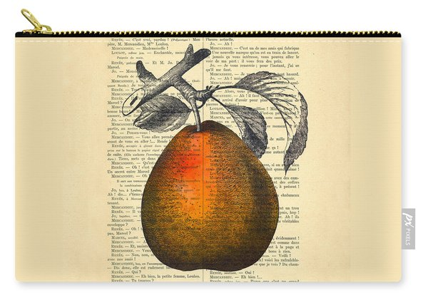 Pear Fruit Kitchen Decor Carry-all Pouch