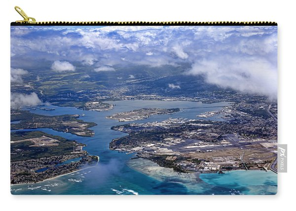 Pearl Harbor Aerial View Carry-all Pouch