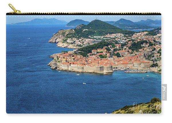 Pearl Of The Adriatic, Dubrovnik, Known As Kings Landing In Game Of Thrones, Dubrovnik, Croatia Carry-all Pouch