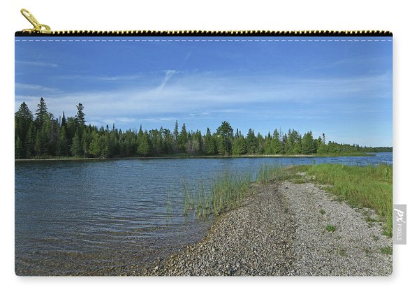 Pebble Beach At Twin Lakes Carry-all Pouch