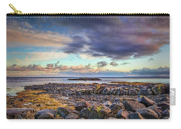Pebbles And Sky  #h4 Carry-all Pouch