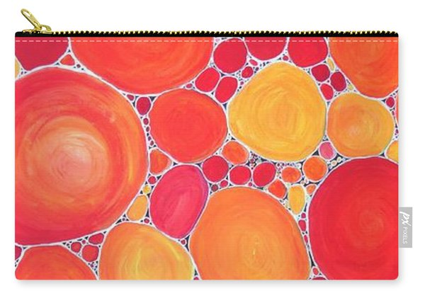 Pebbles At Sunset  Carry-all Pouch