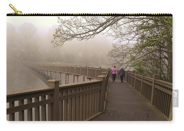 Pedestrian Bridge Early Morning Carry-all Pouch
