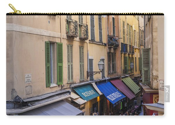 Street In Old Nice Carry-all Pouch