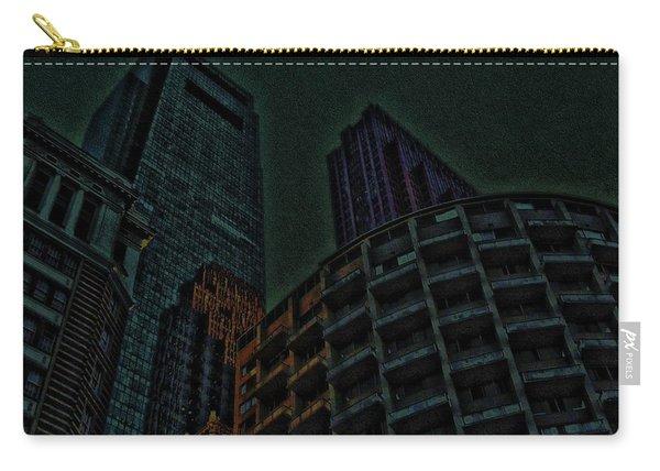 Pedestrian Urban Sunset Carry-all Pouch
