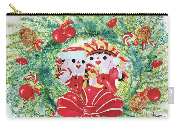 Peek-a-boo Christmas Carry-all Pouch