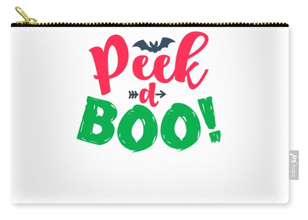 Peek A Boo Halloween For Everyone Gift Or Present Easy Costume Scare Everyone Love Halloween Office  Carry-all Pouch