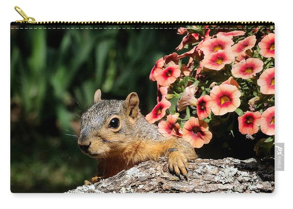 Peek-a-boo Squirrel Carry-all Pouch