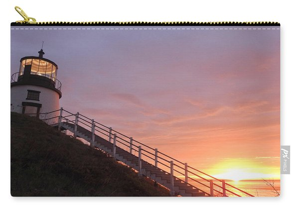 Peeking Sunrise Carry-all Pouch
