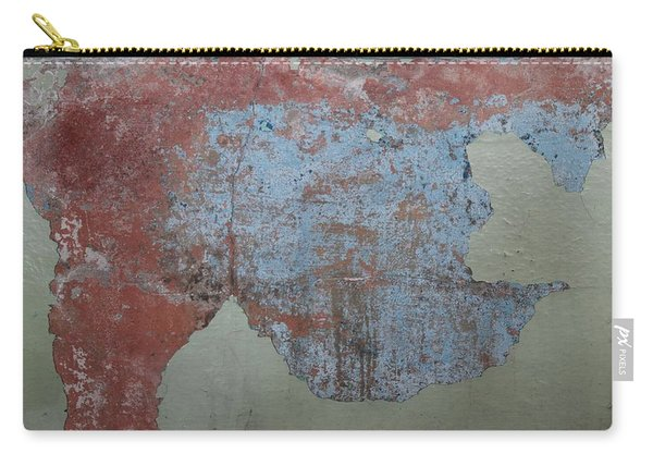 Carry-all Pouch featuring the photograph Peeling Paint - 2 by Christy Pooschke