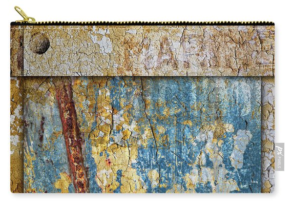 Peeling Paint And Rusty Metal Carry-all Pouch