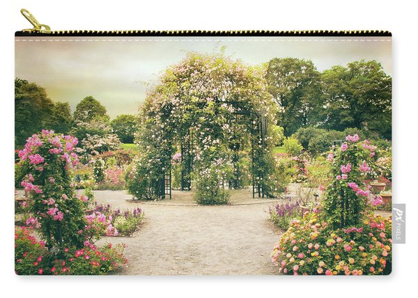 Peggy's Rose Garden Carry-all Pouch