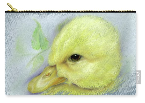 Pekin Duckling Portrait Carry-all Pouch