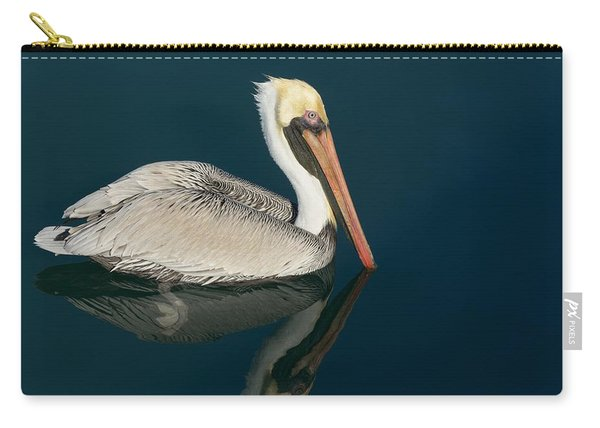 Pelican With Reflection Carry-all Pouch