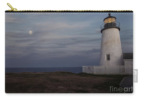 Pemaquid And Full Moon Carry-all Pouch