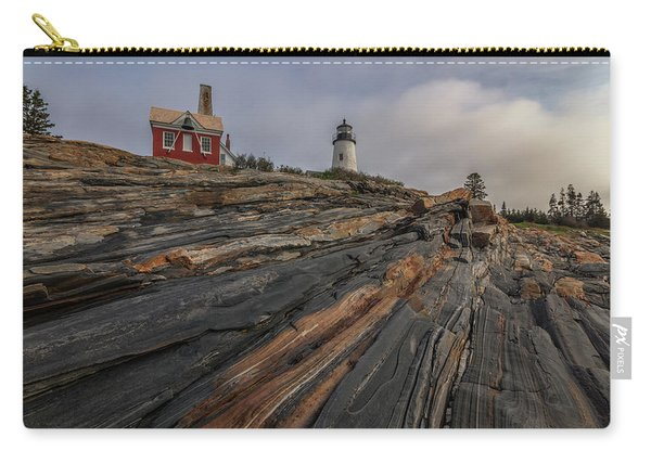 Pemaquid Point Cliffs Carry-all Pouch