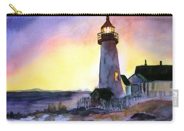 Pemaquid Point Lighthouse Maine Carry-all Pouch