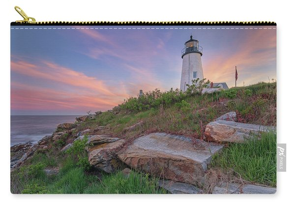 Pemaquid Point Sunset Carry-all Pouch