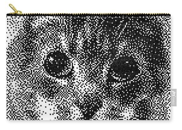 Pen Pixel Cat Carry-all Pouch