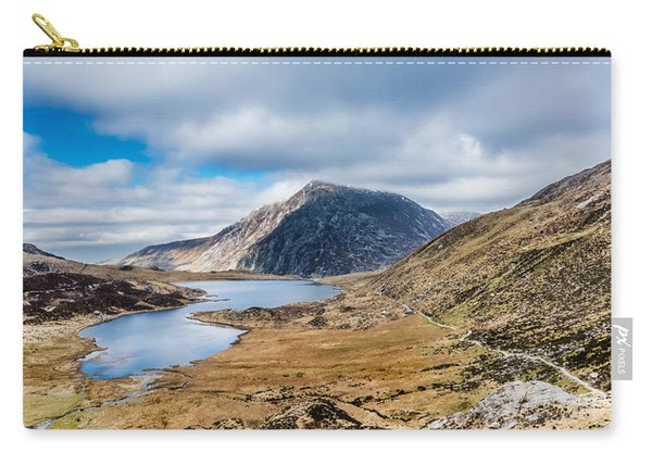 Carry-all Pouch featuring the photograph Pen Yr Ole Wen by Nick Bywater