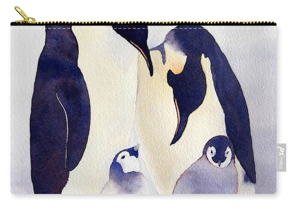 Penguin Family Carry-all Pouch