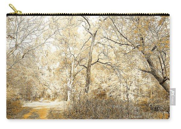 Pennsylvania Autumn Woods Carry-all Pouch