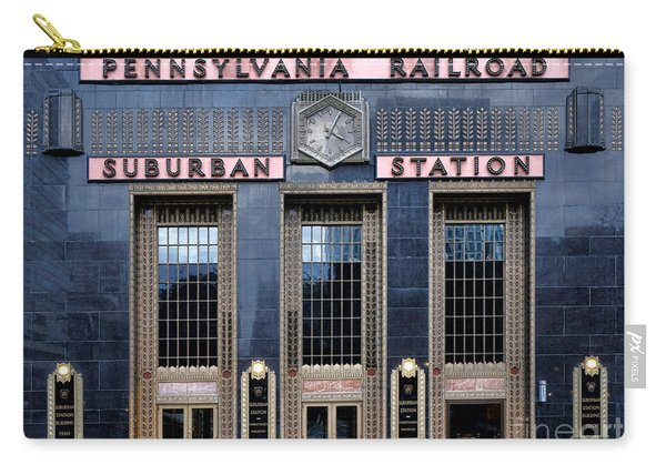 Pennsylvania Railroad Suburban Station Carry-all Pouch
