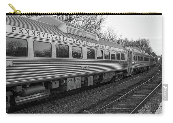 Pennsylvania Reading Seashore Lines Train Carry-all Pouch