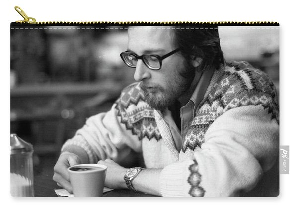 Pensive Brown Student, Louis Restaurant, 1976 Carry-all Pouch