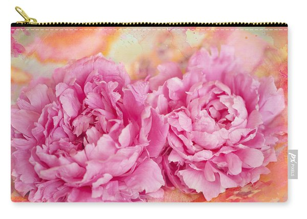 Peony Fiesta Carry-all Pouch