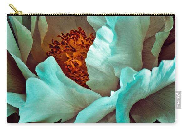 Peony Flower Carry-all Pouch