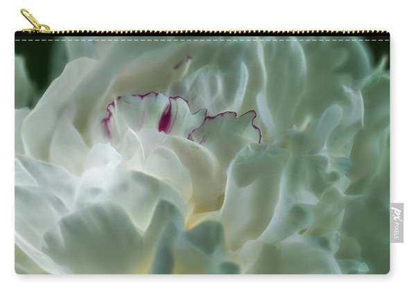 Peony Flower Energy Carry-all Pouch