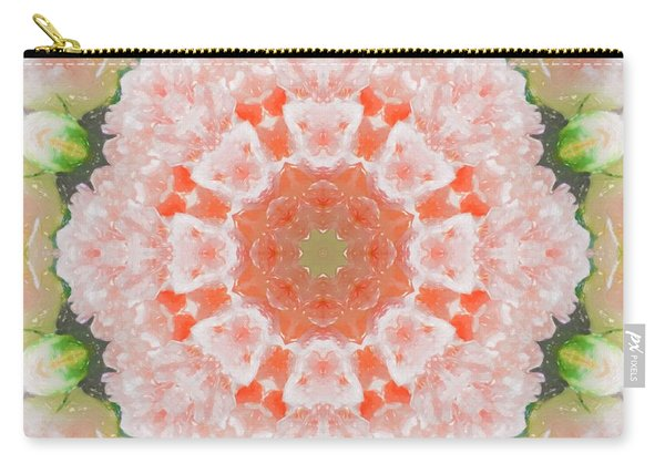 Peony Kaleidoscope 1 Carry-all Pouch