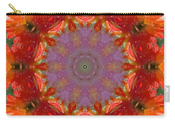 Peony Kaleidoscope 2 Carry-all Pouch
