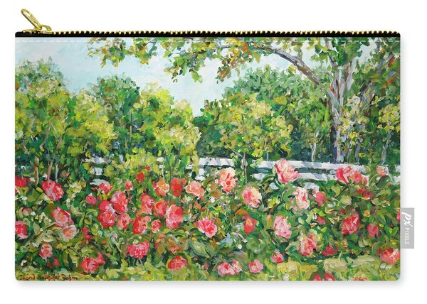 Peony Riot Carry-all Pouch