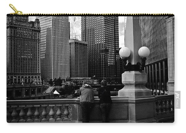 People And Skyscrapers Carry-all Pouch
