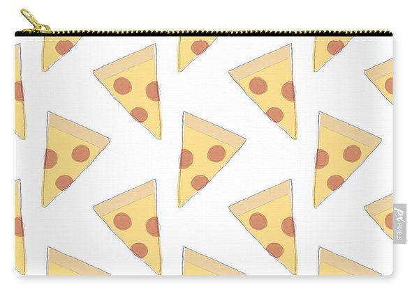 Pepperoni Pizza- Art By Linda Woods Carry-all Pouch