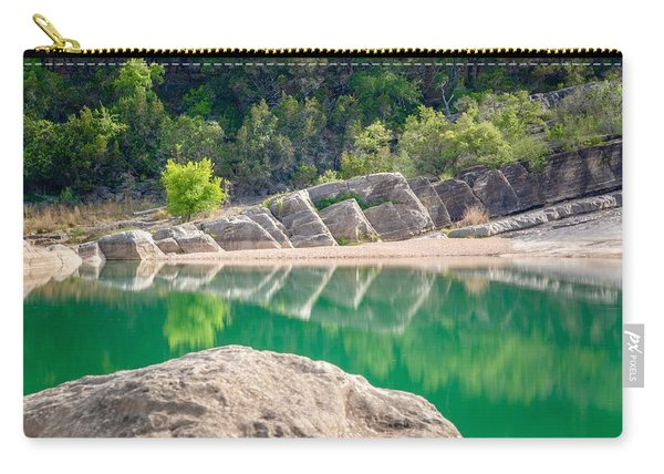 Perdernales Falls Carry-all Pouch