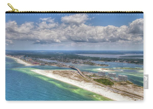 Perdido Pass Aerial 3029 Carry-all Pouch