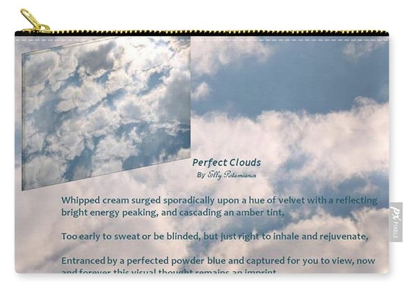 Perfect Clouds Carry-all Pouch