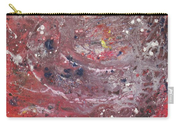 Carry-all Pouch featuring the painting Perfect Storm by Michael Lucarelli