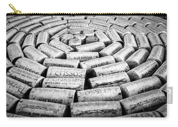 Perissos Vineyard Wine Corks Carry-all Pouch