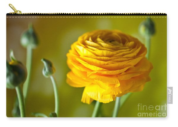 Persian Buttercup Flower Carry-all Pouch