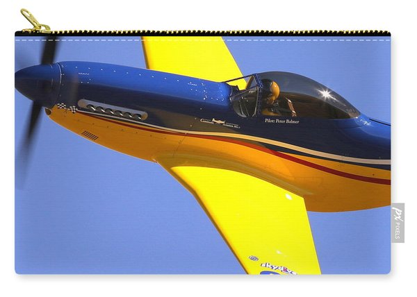 Peter Balmer In Swiss Thunder Carry-all Pouch