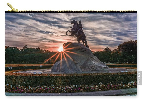 Peter Rides At Dawn Carry-all Pouch