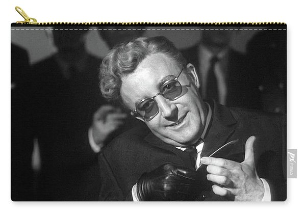 Peter Sellers As Dr. Strangelove Number One Color Added 2016 Carry-all Pouch