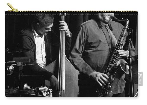 Peter Slavov And Joe Lovano 3 Carry-all Pouch