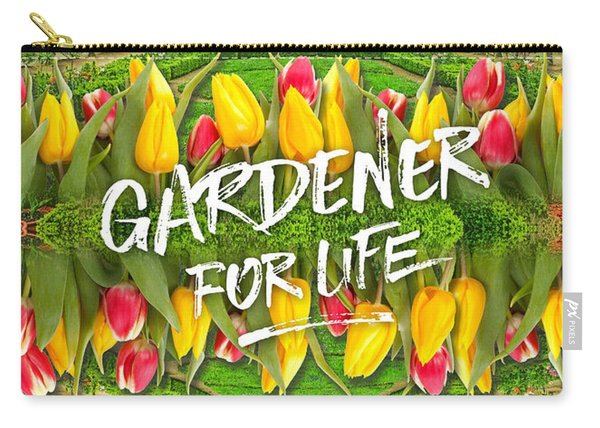 Petit Trianon Tulips Versailles Palace Gardens Paris France Carry-all Pouch